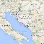クロアチア〜モンテネグロ