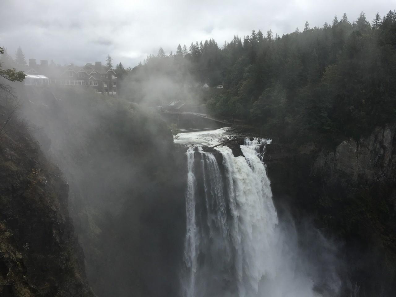 温帯雨林を見に行こう(米ワシントン国立公園)その3 番外編、Twin Peaks聖地巡礼