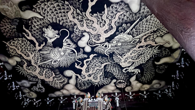建仁寺天井画