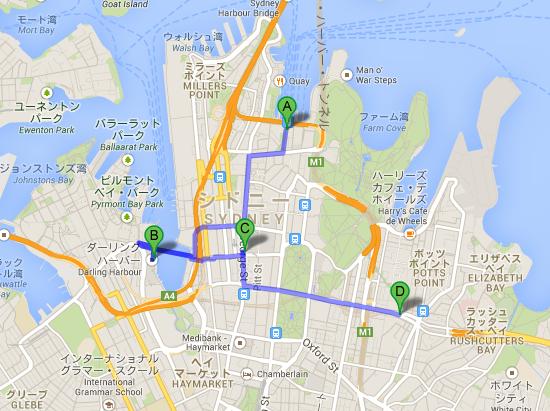 シドニー---Google-マップ