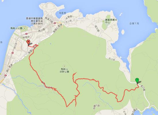 香港トレイル