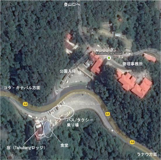 キナバル公園   Google マップ