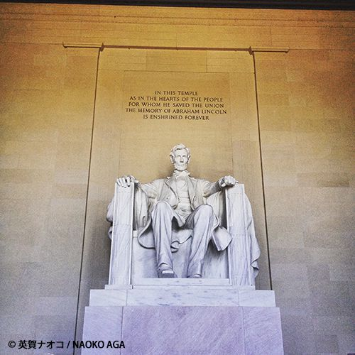 エイブラハム・リンカーン像