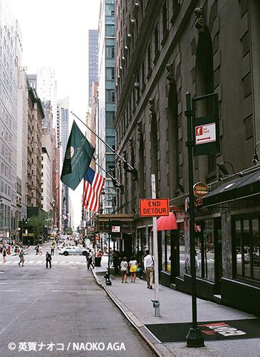 ニューヨークの街