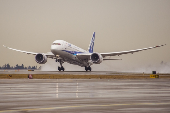 2016111 ANA 100,000th 787 Flight