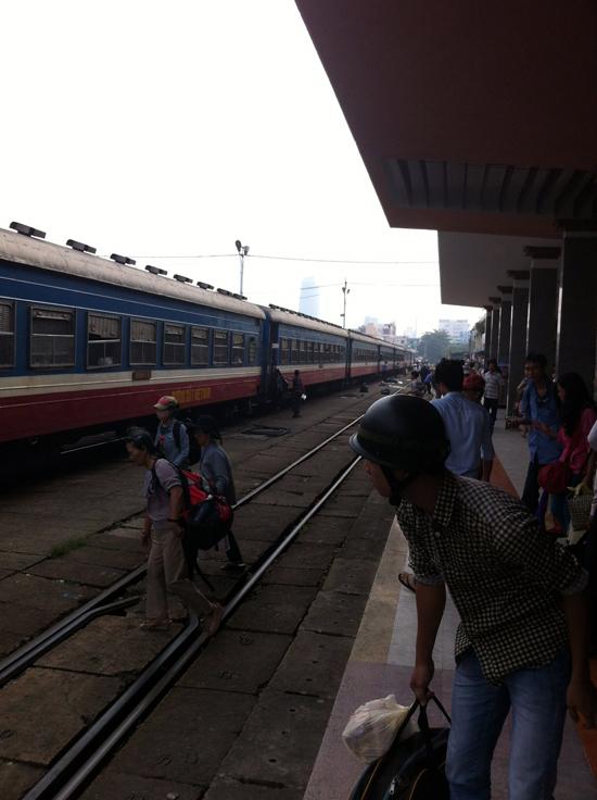 カンボジアの鉄道2