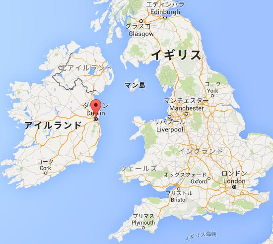 ダブリン   Google マップ