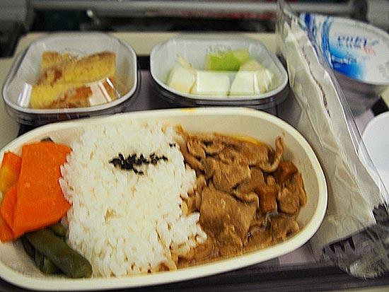 トランスアジアの機内食