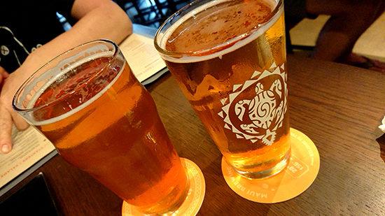 念願のクラフトビール