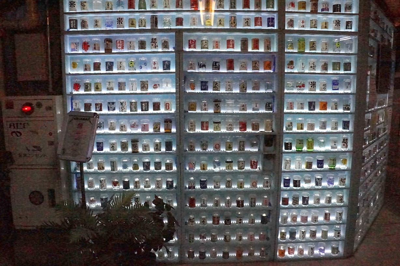 浅草地下街の日本酒バー