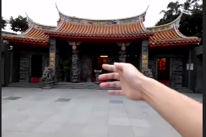 九份のお寺