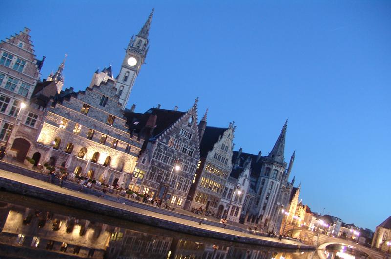 とっておきの夜景が楽しめるベルギーの古都ゲント