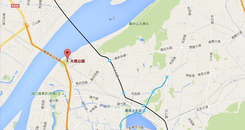 大橋公園   Google マップ