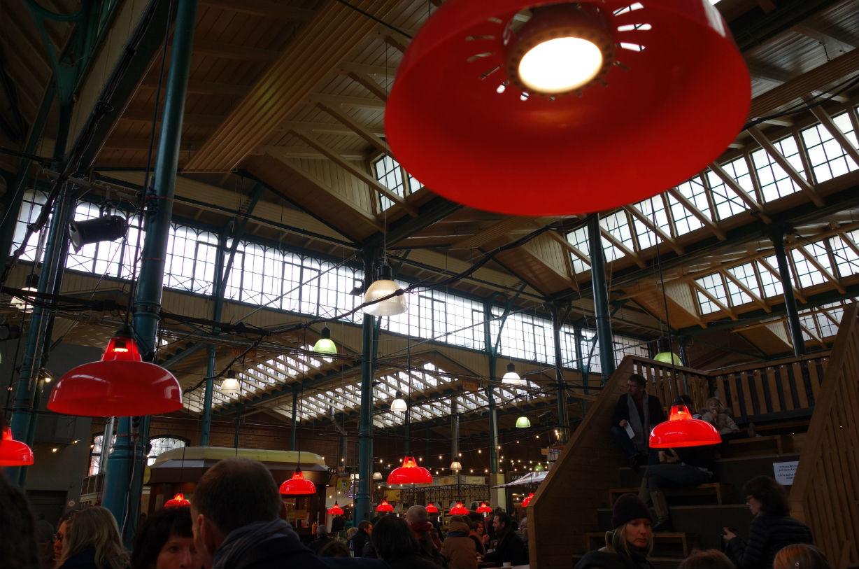 ベルリンの屋根付きマーケット