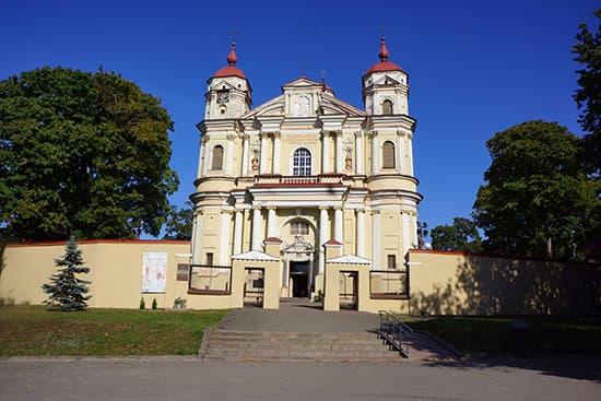 聖ペテロパウロ教会:外観は普通。