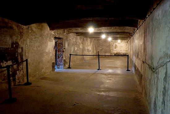 アウシュビッツのガス室