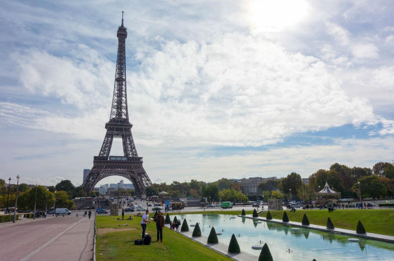 世界の街を走ってみる~ パリ