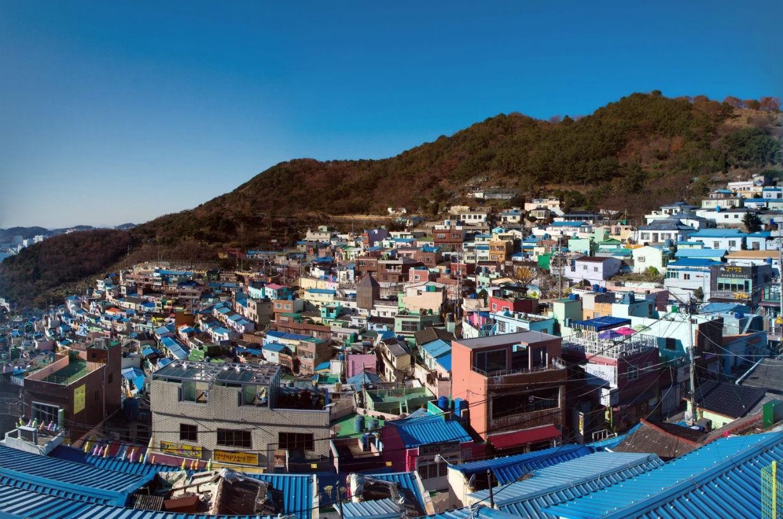 韓国のタルトンネ訪問記 ~釜山・甘川文化村
