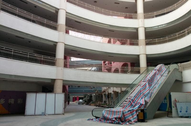 香港エクスプレスで行く中国! 東莞(ドンガン)の巨大ゴーストモールに行ってみた 2