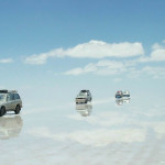 The Salar covered with water