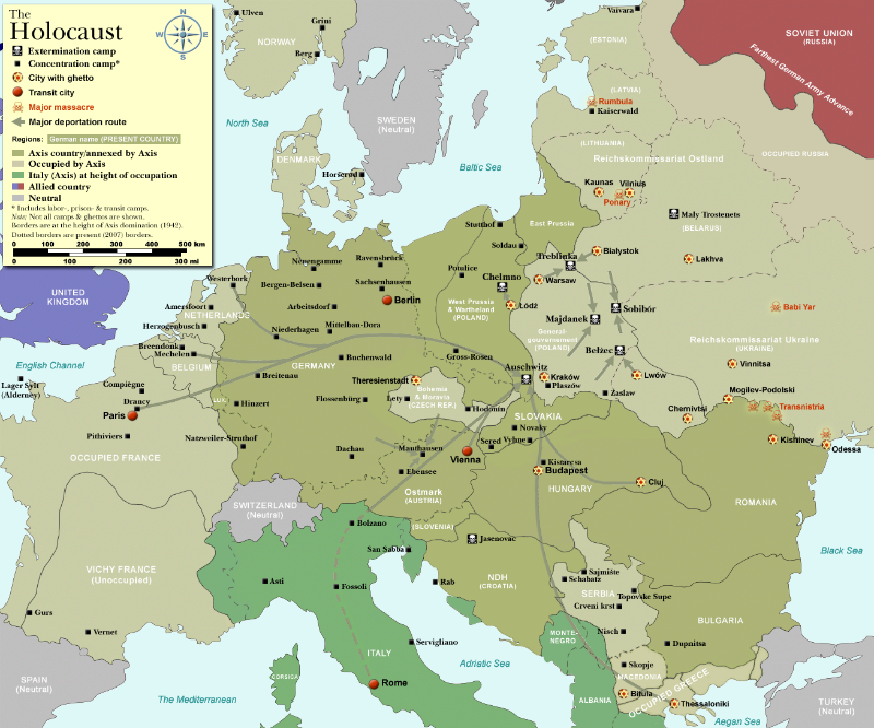 WW2-Holocaust-Europe