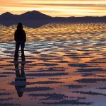 Sunset Salar de Uyuni