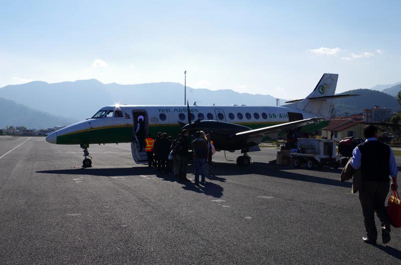 tabinoteで行くインド・ネパール旅行(3.ネパール国内線事情)