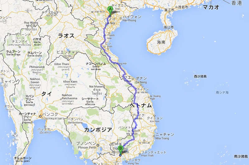 LCCでベトナム(ハノイ〜ホーチミン)国内旅行(準備編1)